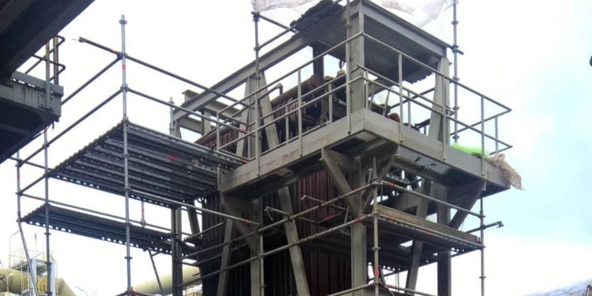 Предоставено скеле за основен ремонт на Аурубис България - 3