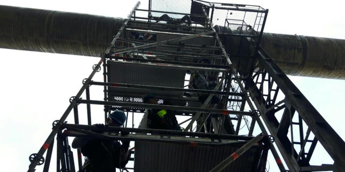 Предоставено скеле за основен ремонт на Аурубис България - 4