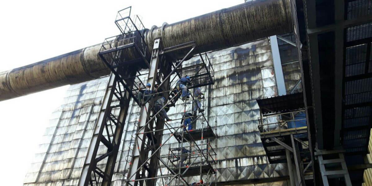 Предоставено скеле за основен ремонт на Аурубис България - 5