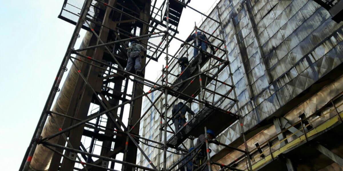 Предоставено скеле за основен ремонт на Аурубис България - 6