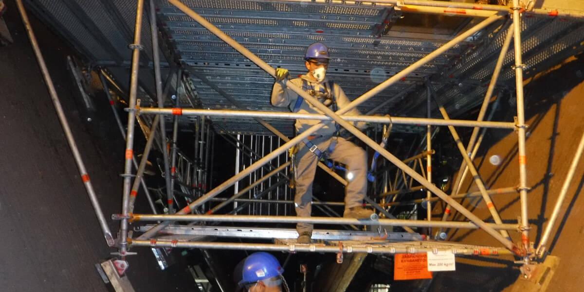 Предоставено скеле за основен ремонт на Аурубис България - 7