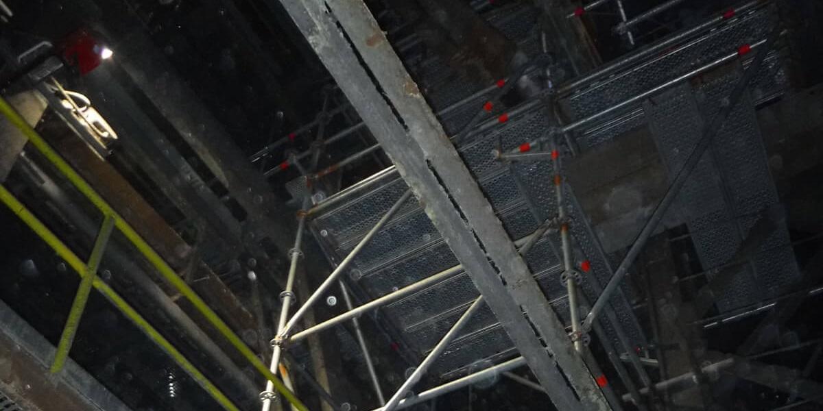 Предоставено скеле за основен ремонт на Аурубис България - 8
