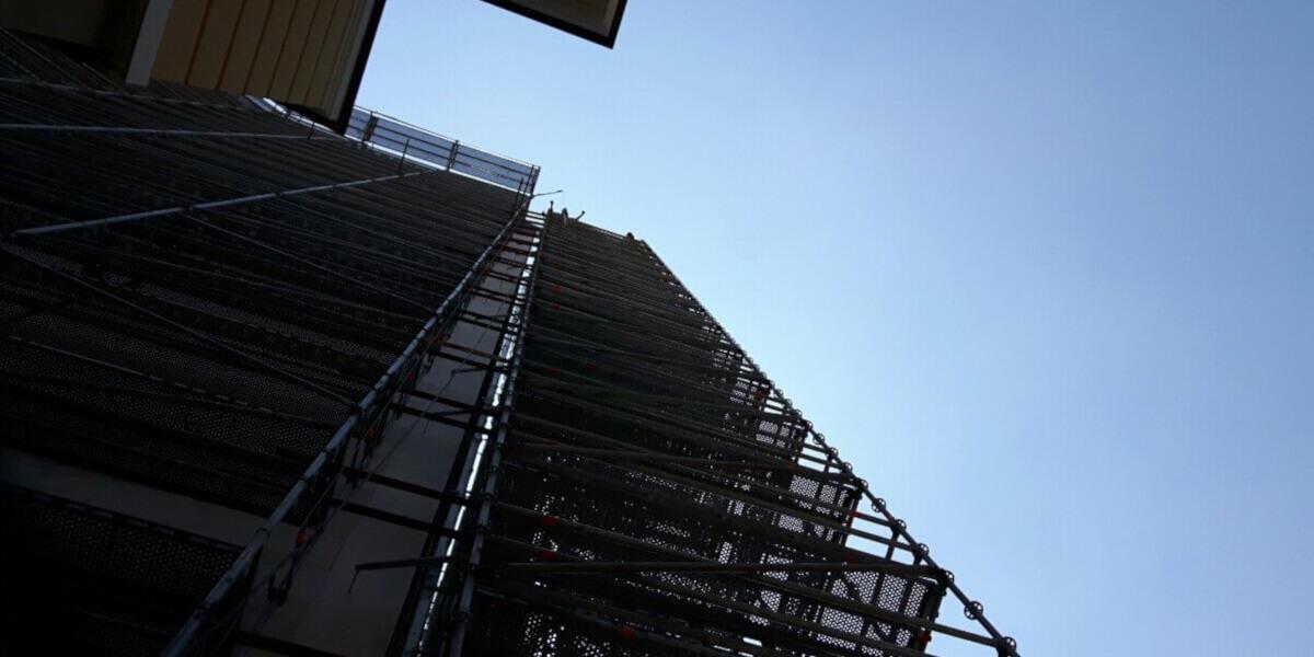 ЦКС София ремонт с фасадно скеле - 3